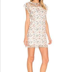 Tularosa Dresses - Tularosa Elba Pom Pom dress